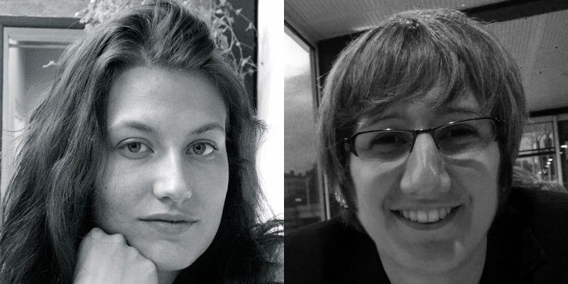 Isabelle B. Price et Edwine Morin
