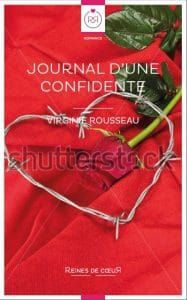 couvertures de livres lesbiens - Journal d'une confidente couverture alternative