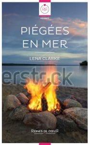 couvertures de livres lesbiens - Piégées en Mer couverture alternative