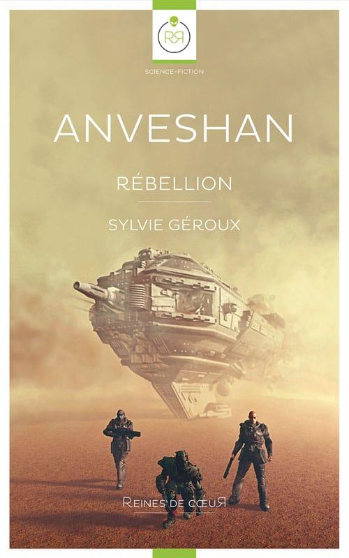 liste romans lesbiens Anveshan rebellion de Sylvie Geroux