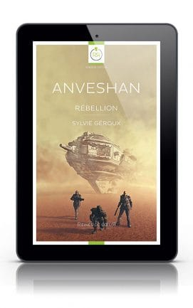 Anveshan rebellion de Sylvie Geroux Tablette