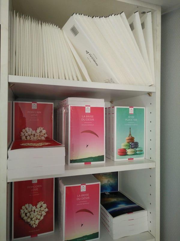 Livres lesbiens au format papier rangement 1