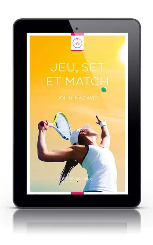 Jeu, set et match de Johanna David - Version Tablette