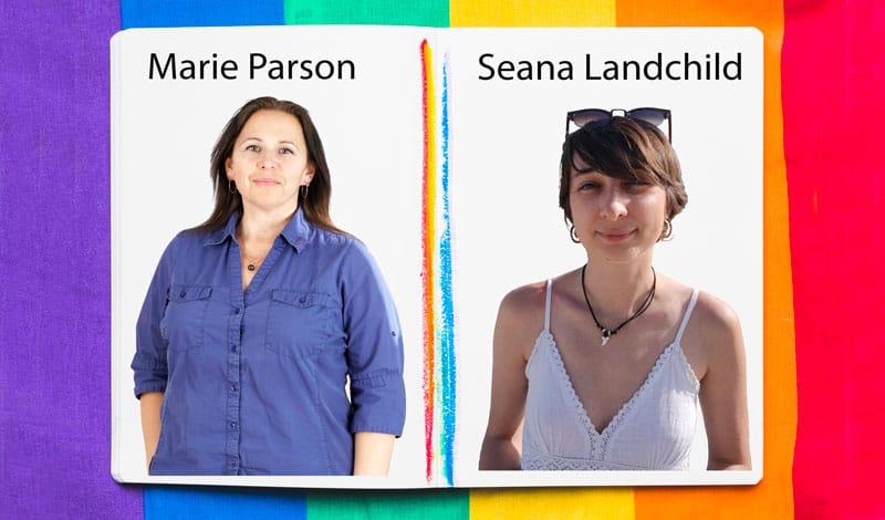 Marie Parson et Seana Landchild - Récits lesbiens