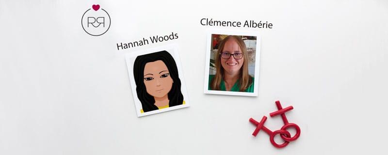 Fictions Lesbiennes - Sorties d'Hannah Woods et Clémence Albérie