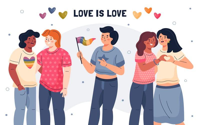 Homoromance : Définition et présentation