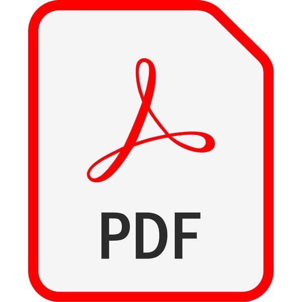 Ebooks quel format choisir - présentation du format pdf