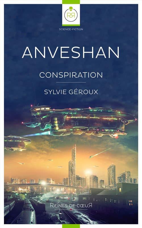 liste romans lesbiens Anveshan conspiration de Sylvie Geroux